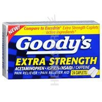 Goody's Extra Strength Fast Pain Relief, Tablets, 24 Count