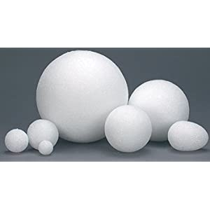 3 inch Styrofoam Balls - 50 pieces
