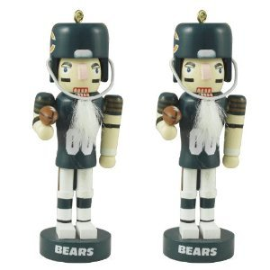 Philadelphia Eagles NFL Mini Nutcracker Christmas Ornament Set at Amazon.com