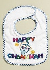 Happy Chanukah Bib