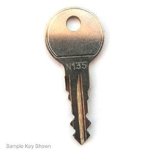 Thule Car Rack Replacement Key - Single