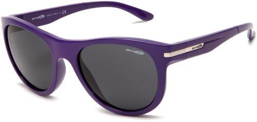 Arnette -  Occhiali da sole  - Uomo, (Violet Frame/Grey Lens), Taglia unica