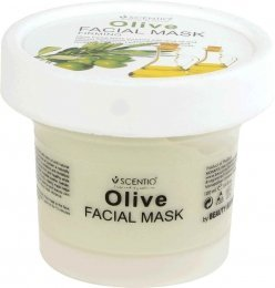 Scentio Olive Firming Facial Mask 100ml.