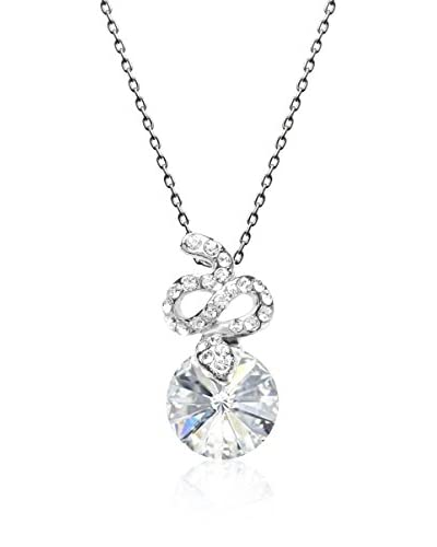 Absolute Crystals Set catenina e pendente Snake Rivoli Argentato
