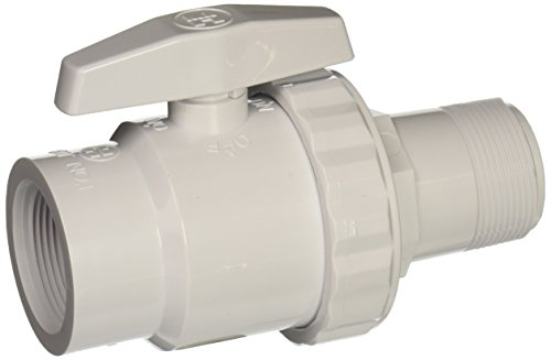Hayward SP0723 Trimline 2-Way Ball Valve, 1-1/2-Inch FIP Pipe and 1-1/2-Inch MIP ABS Material (Swimming Pool Valves compare prices)