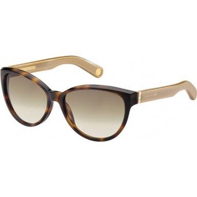 Marc JacobsMarc Jacobs MJ465/S Sunglasses-0BVX Havana (S8 Brown Gradient Lens)-57mm