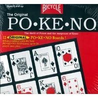 Original Bicycle Pokeno Game PO-KE-NO Large Face Jumbo Index 12 Boards