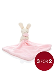 Rabbit Comforter Toy