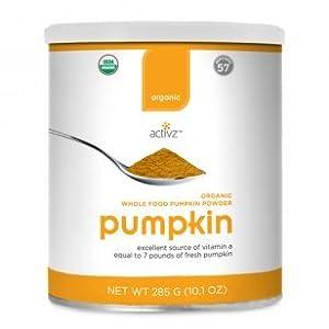 Organic Whole Food Pumpkin Powder by Activz,285G (10.1oz)
