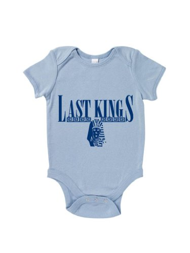 Blue Ivory Last Kings Baby Grow Hip Hop Retro Baby Shower Gift Novelty