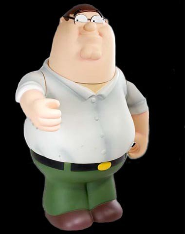 Buy Low Price Mezco Exclusive Family GUY Deluxe 18 Inch Talking Peter Figure (B000I93S7U)