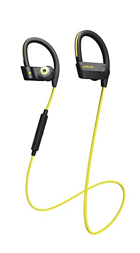 Jabra Sport Pace - Casque Audio Sport sans Fil avec Charge Rapide et Application - Version EU - Jaune