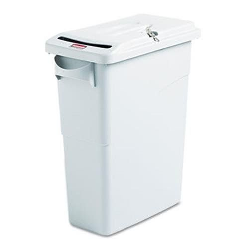 slim-jim-confidential-document-receptacle-w-lid-rectangle-15875gal-lt-gray-by-rcp-tracks