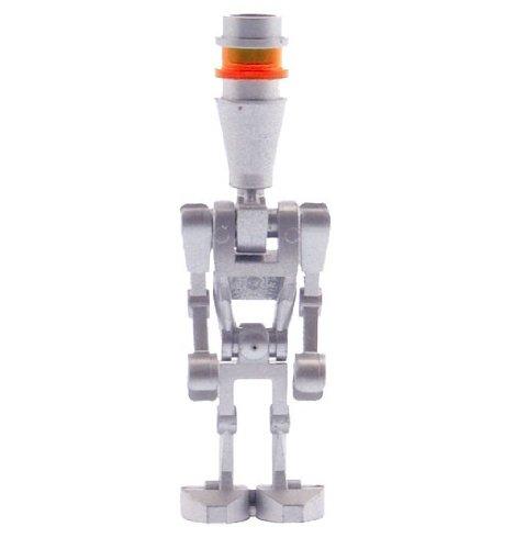 Star Wars Lego Mini Figure (Clone Wars) - silber