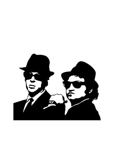 LINEA ARTISTICA Muurtattoo Blues Brothers