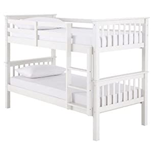 Ideal Furniture Novaro Bunk Bed, White