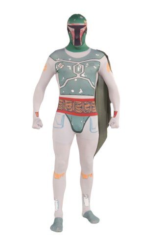 Star Wars Boba Fett 2nd Skin Adult Costume, Medium