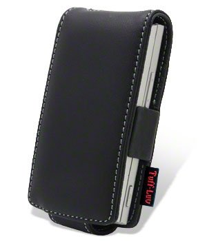 Tuff-Luv Executive leather cover case for (Nokia X3) mobile phone