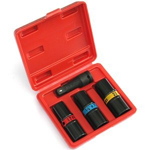 Anytime Tools 6 Sizes IMPACT FLIP LUG NUT SOCKET SET METRIC/SAE