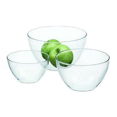 Simax Glassware 186 3-Piece Blown Bowl Set