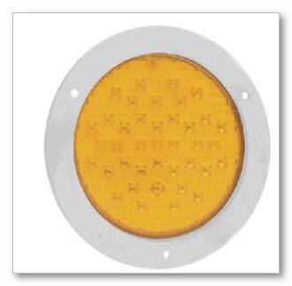 "Grote 52093 Supernova 4"" Yellow 10-Diode Pattern Turn Led Lamp"