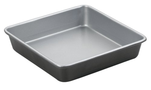 Cuisinart AMB-9SCK 9-Inch Chef's Classic Nonstick Bakeware Square Cake Pan, Silver (Baking Pans Cuisinart compare prices)