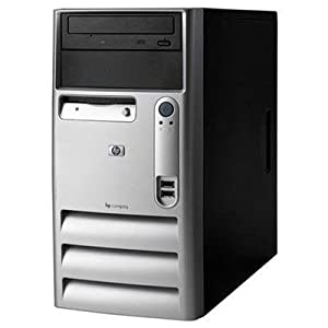 HP Compaq Internet Ready Tower Computer - P4 2.8Ghz Processor - 1Gb Memory - 80Gb hard disk - DVDROM - Windows XP operating system installed