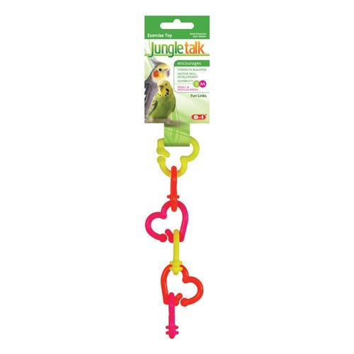 Cheap United Pet Jungle Talk Fun Links for Small and Medium Birds – Part #: JT 3039 (JT 3039)