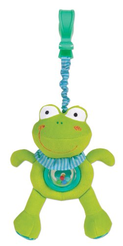 Small World Toys All About Baby Infant - Shake and Wiggle Buddies--Froggy - 1