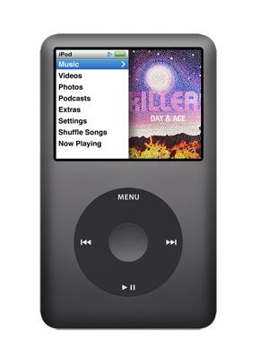 Apple iPod Classic 160 GB Black (7th Generation) NEWEST MODEL - REFURBISHED + iESSENTIALS KIT