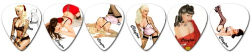 Clayton Picks Pin-Ups SHPU/12 Guitar Picks