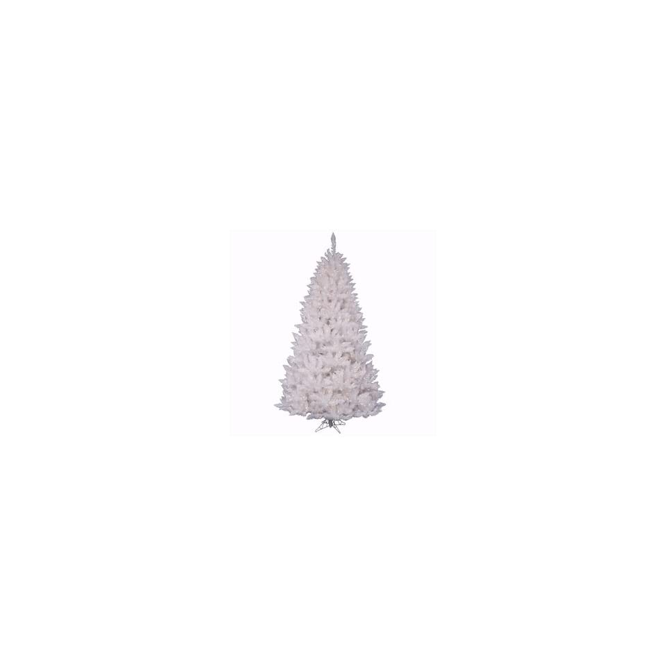 Crystal White Spruce 8.5 Artificial Christmas Tree with Clear Lights