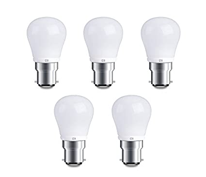 4W Cool White Led Lights (Set Of 5)