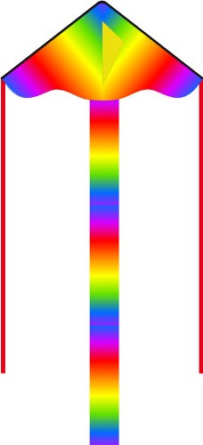 "HQ Kites Eco Line: Simple Flyer Radiant Rainbow 33"" Kite"