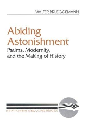 Abiding Astonishment (Literary Currents in Biblical Interpretation), Walter Brueggemann