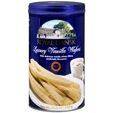 Royal Dansk Luxury Wafers with Vanilla Flovored