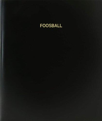 BookFactory-Foosball-Log-Book-Journal-Logbook-120-Page-85×11-Black-Hardbound-XLog-120-7CS-A-L-BlackFoosball-Log-Book