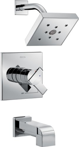 Delta Faucet Delta T17467 Ara Monitor 17 Series Tub and Shower Trim, Chrome (Ara Shower Head compare prices)