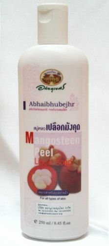 Mangosteen Peel Extract Body Liquid Soap 3.5 0z Daily Use, All Natural Fruit Extract Anti Acne