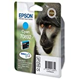 Brand New. Epson T0892 Inkjet Cartridge DuraBrite for Stylus SX100 Cyan Ref T08924011