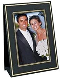 Jerry Easel frames black/gold border sold in 10s - 4x6