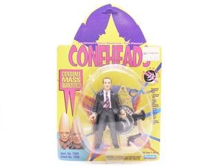 "Michael McKean as Agent Seedling Human Authority Figure Action Figure - Coneheads Pre-formed Polymer Replicants ""From France"""