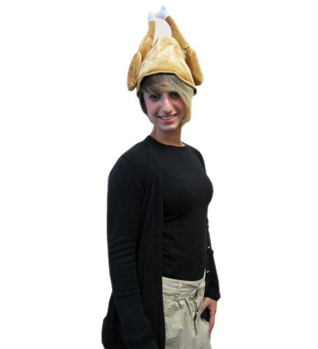 Roast Turkey Hat - Roast Turkey Hat For Thanksgiving Holiday Costume
