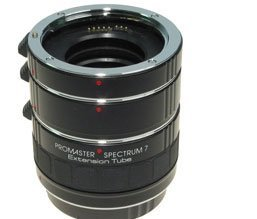 PROmaster Digital Extension Tube Set – fits Canon EOS Digital & Traditional SLRs
