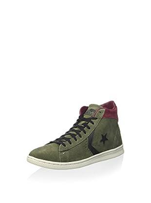 Converse Zapatillas abotinadas Pro (Verde Militar)