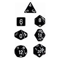 Chessex Dice: Polyhedral 7-Die Opaque…