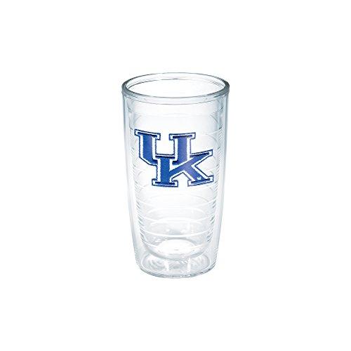 Tervis 1006752 Kentucky University Emblem Individual Tumbler, 16 oz, Clear