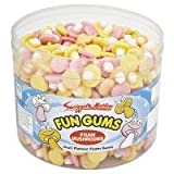 Swizzels Foam Mushrooms Fun Gums - 600 Pack