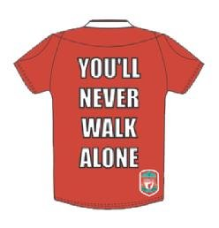 Official Liverpool You'll Never Walk Alone Enamel Pin Badge from GRANADE VENTURES LTD