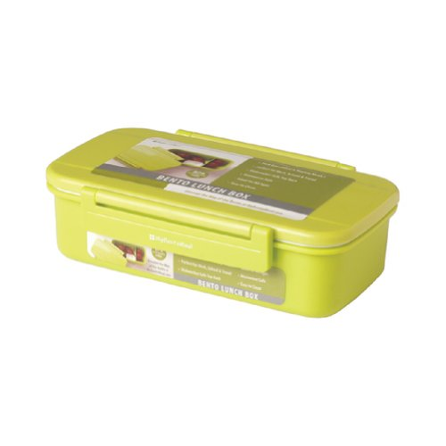 Riley Single Bento Lunch Box (Green Apple)
